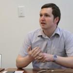 Nathan Hesketh of the Social Enterprise Club.